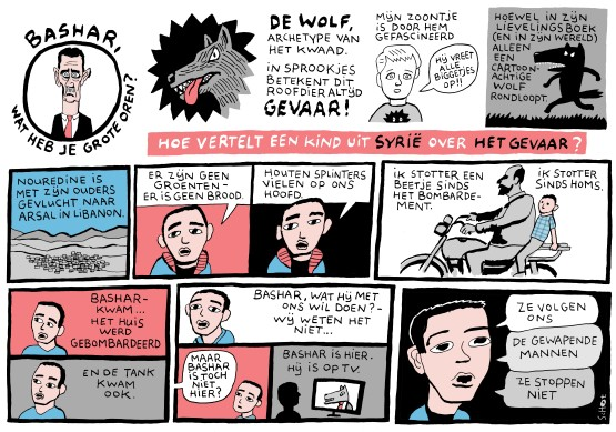 idfa-strip wolf gevaar