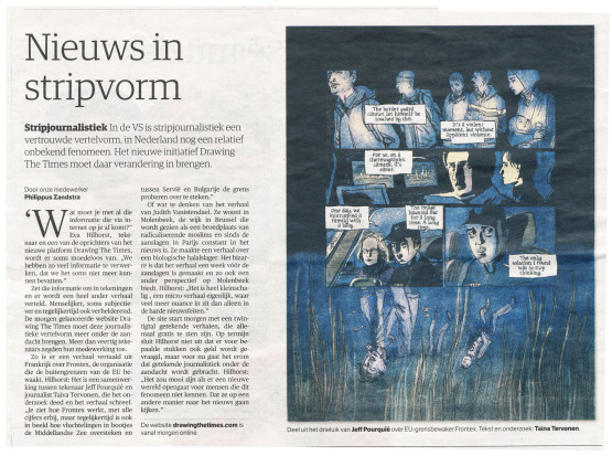Drawing the Times in NRC