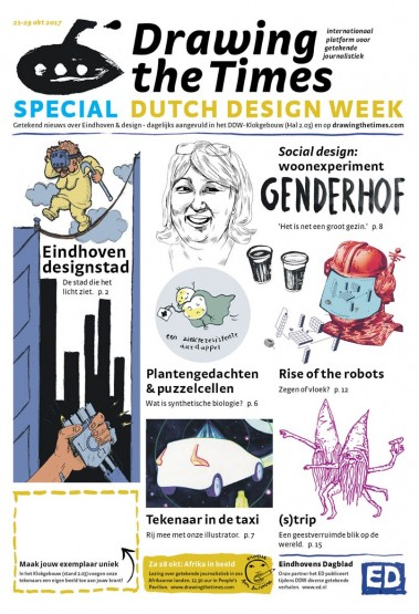 Drawing the Times - Special Dutch Design Week -versie7